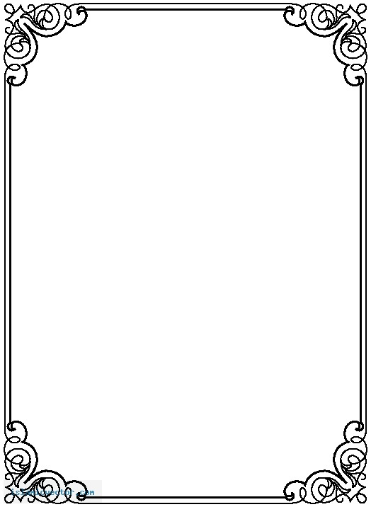 Border Clipart For Word The Best Clipart Desing – Word Document Border Templates