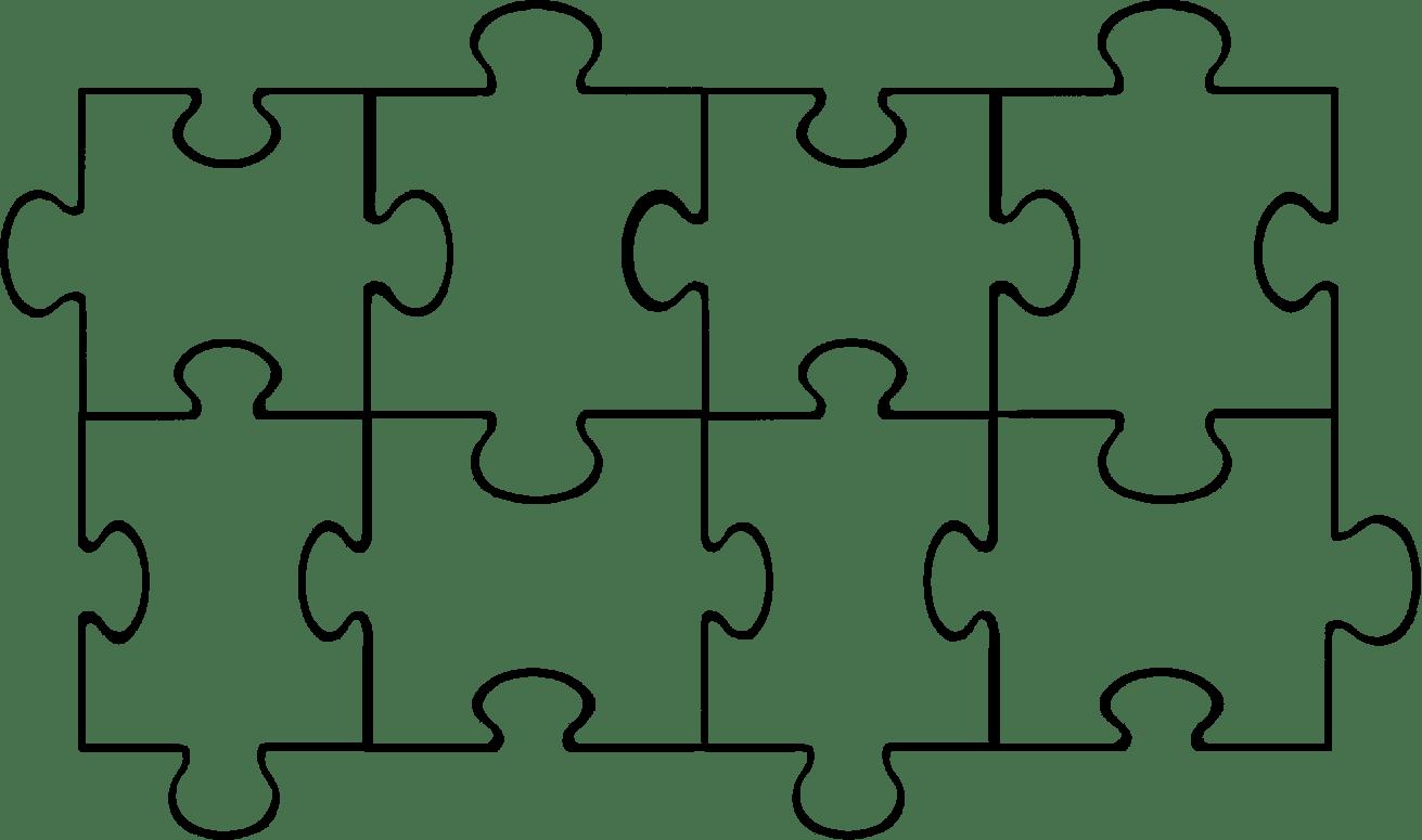8 piece puzzle template sample customer service resume