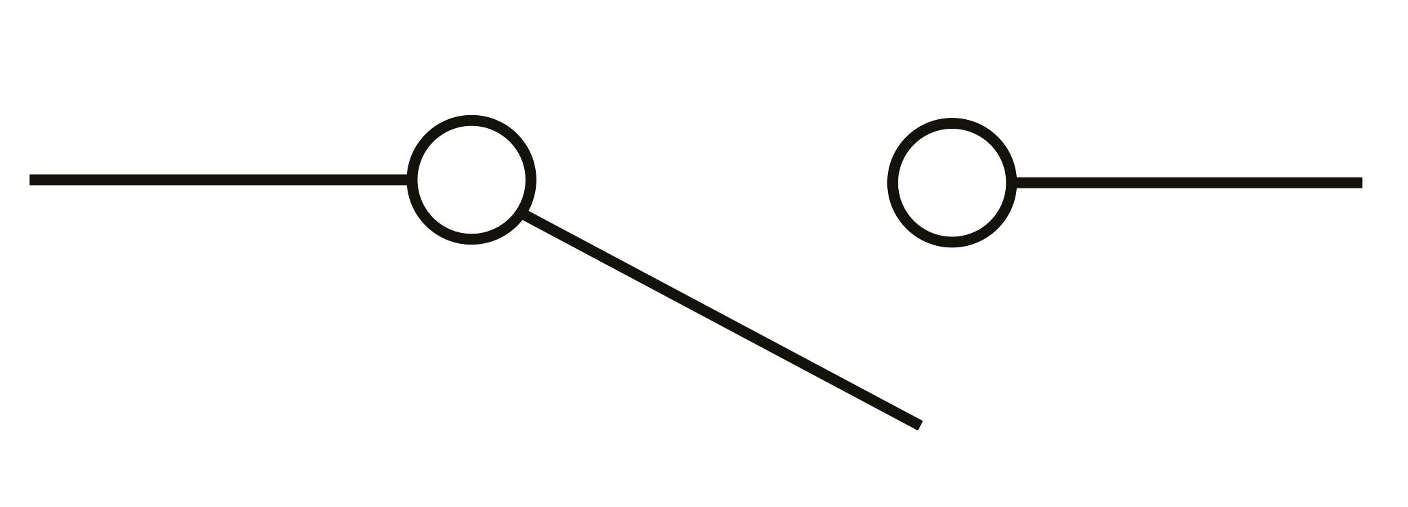 2 way switch symbol