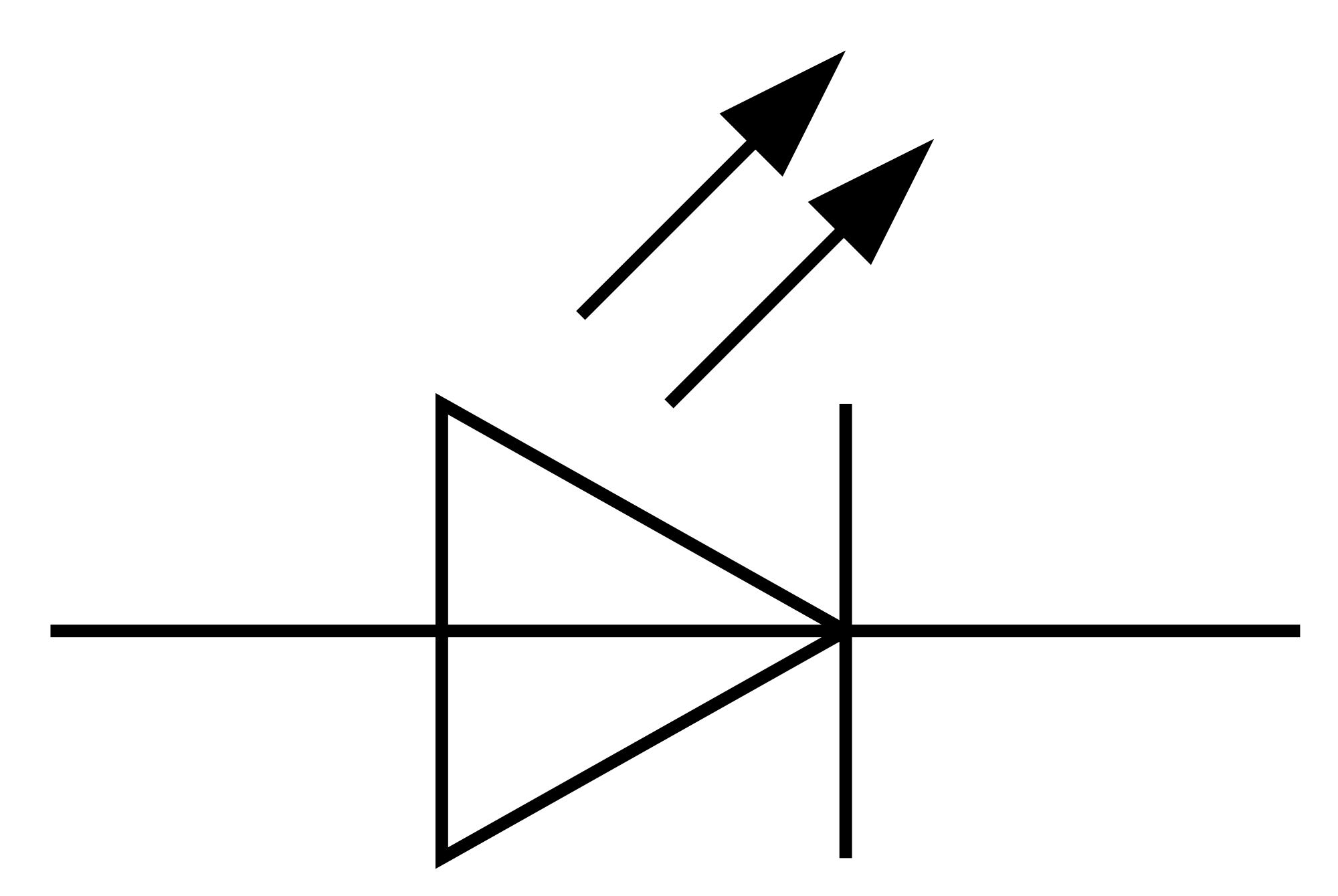 the led circuit diagram symbol