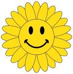 Flower Smiley Face Clip Art Free