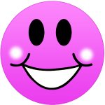 Pink Smiley Clip Art Free