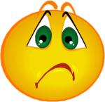 Cartoon Sad Face Clip Art