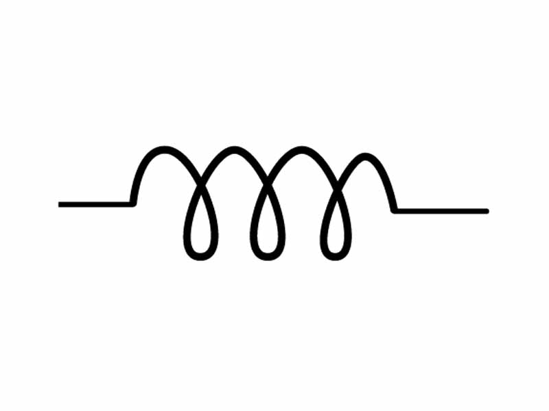 wikipremed mcat course image archive circuit symbol for an inductor