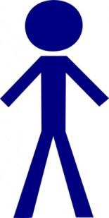 Stick Figure Person Clip Art
