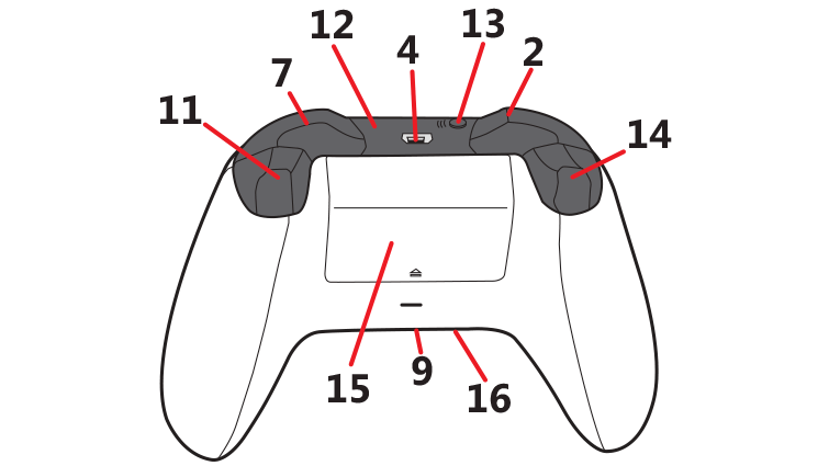xbox 360 controller diagram clipart best