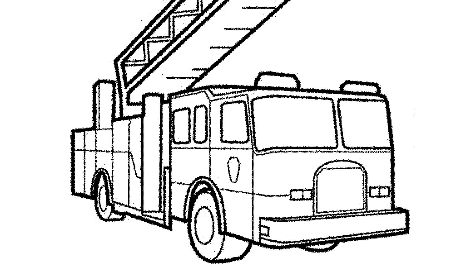 Coloring Pages Fire Truck - Democraciaejustica