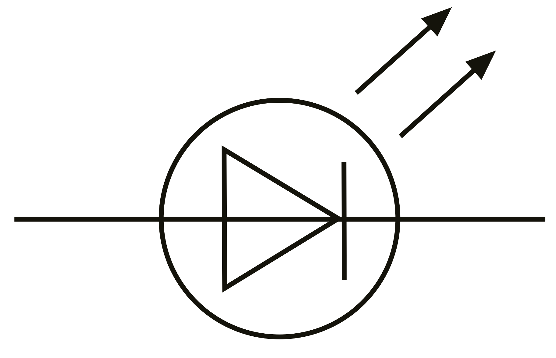 led light schematic symbol
