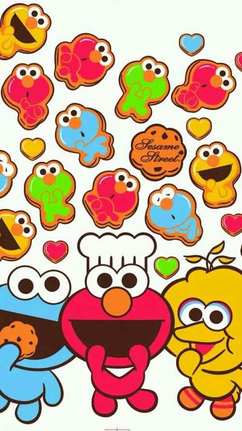 Bert Wallpaper Iphone X Elmo Wallpaper Clipart Best