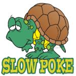 Slow Turtle Cartoon