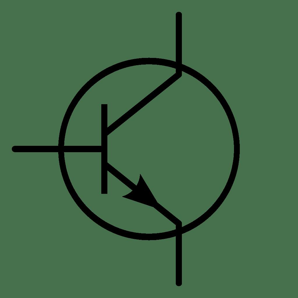 transistor circuit diagram symbol