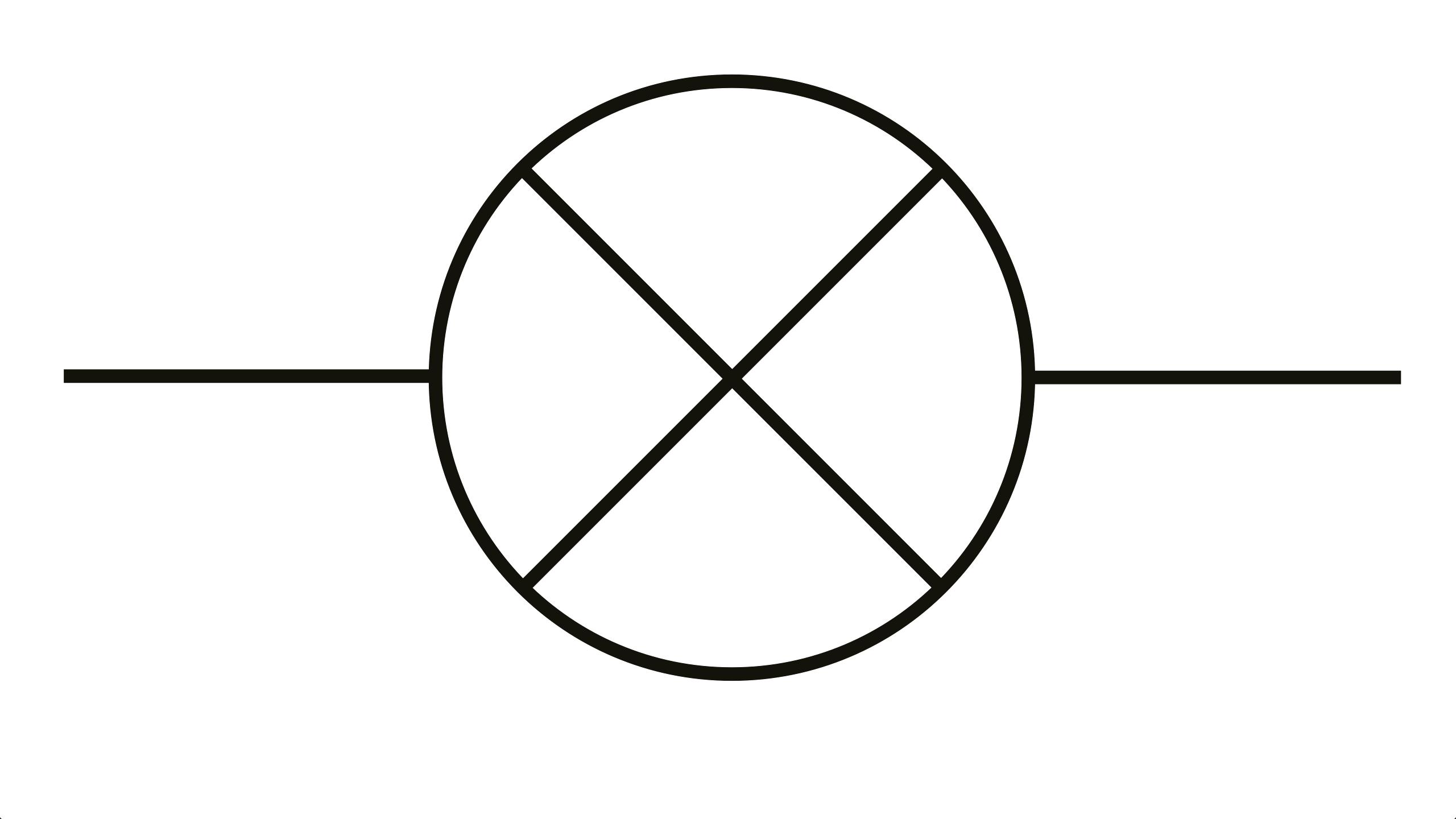 circuit diagram led symbol