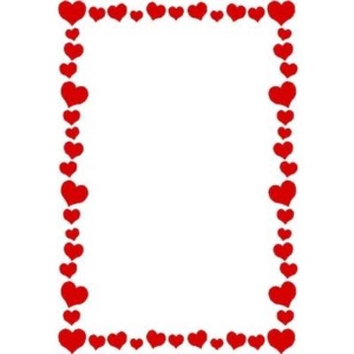 Love Heart Borders Free
