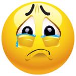 Crying Smiley Face Emoji
