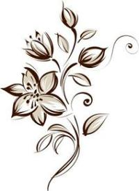 Flower Wall Stencil Ideas for Painting - ClipArt Best ...