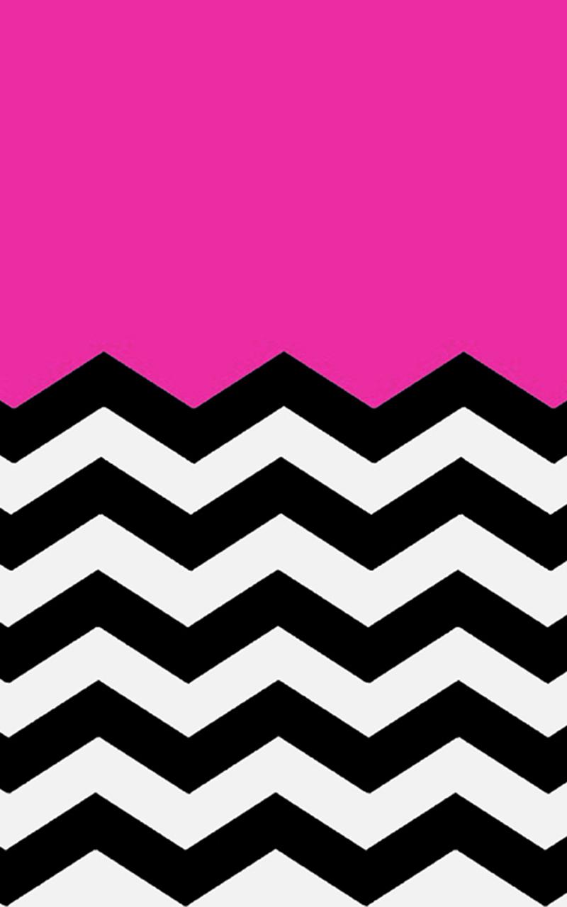 Cute Zig Zag Wallpapers Hot Pink Chevron Wallpaper Clipart Best