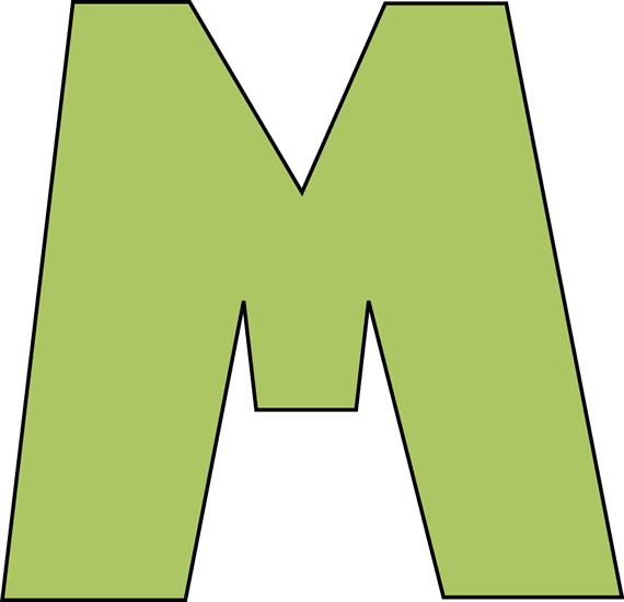 Letter It Download Over 11000 Embroidery Designs At Letter M Clipart Best
