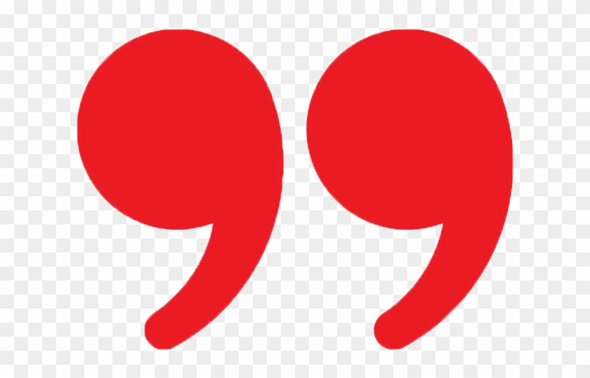 Quotation Marks In English Comma Clip Art - Quotation Mark - Free