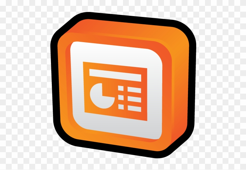 Microsoft Office Powerpoint Icon - Power Point 3d Png - Free