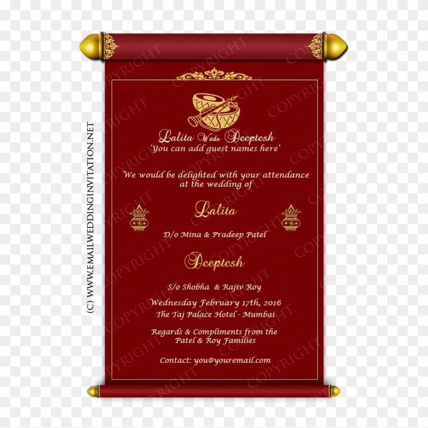 Wedding Invitation Card Design Online Online Wedding - Wedding