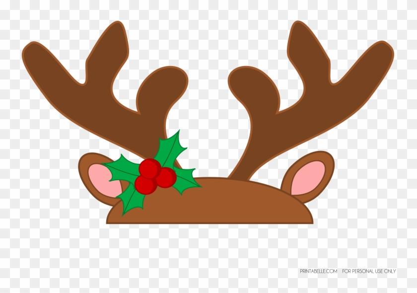 photo relating to Printable Reindeer Antlers referred to as Deer Antler Plaque Printable Template Templates \