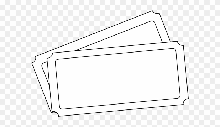 Ticket Template Clip Art - Draw A Concert Ticket - Free Transparent