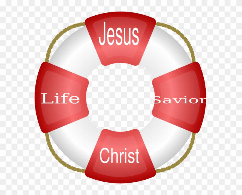 Jesus Is A Life Saver - Nautical Clipart - Free Transparent PNG