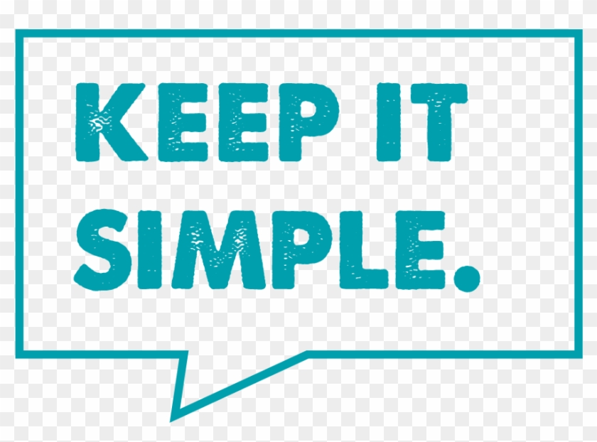 Speech Bubbles Keep It Simple Creating Business Plan - Steps To The