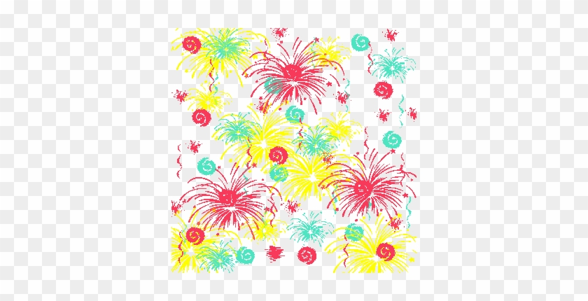 Fireworks Background Or Printable Origami Paper 4ukgib