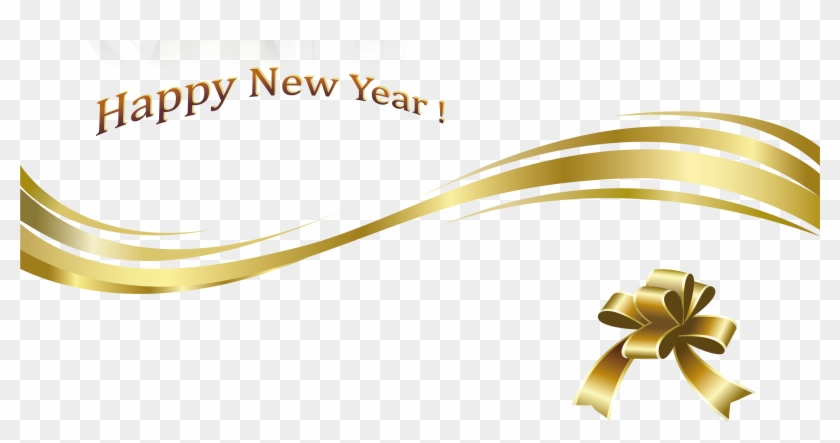 Gold New Year Png Images Happy Holidays Pictures - Happy New Year