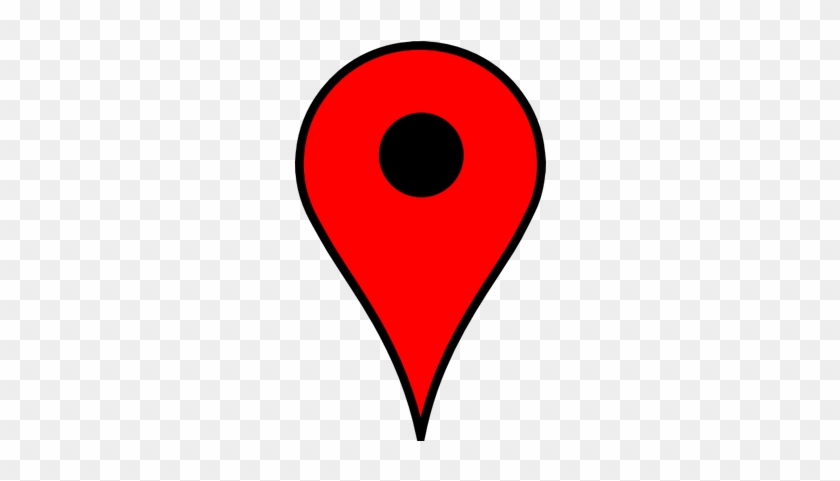 Maps Clipart Map Pin - Google Maps Pin Transparent - Free