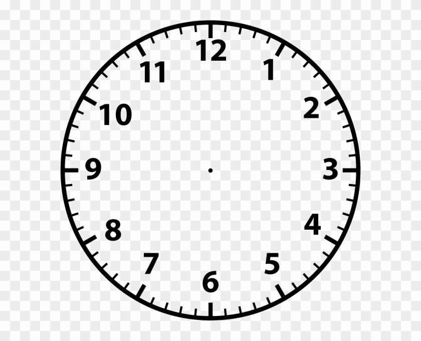 Clock Face Template Clock Face Template Sadamatsu Hp - Blank