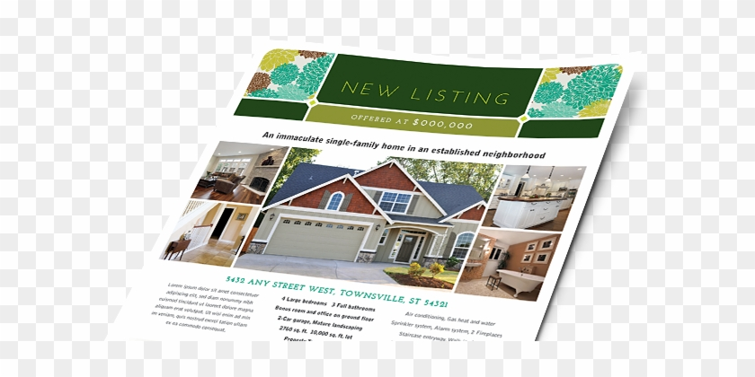 Real Estate Brochures, Flyers, Newsletters - Exterior House Paint