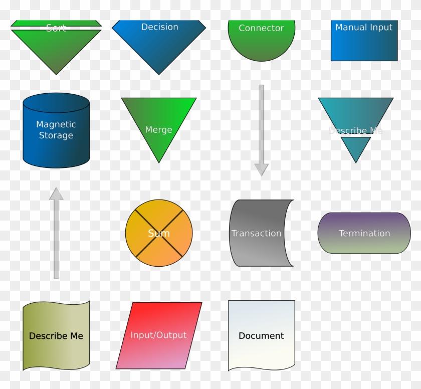 Clipart Flowchart Symbols Rh Openclipart Org Data Flow - Flow Chart