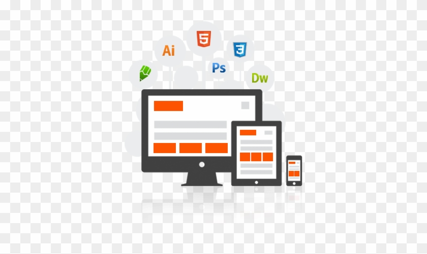 Web Development Clipart Word Art - Web Page Vector Png - Free