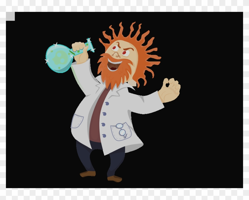 Mad Science Lab Clipart Crazy Scientist Clipart - Mad Scientist