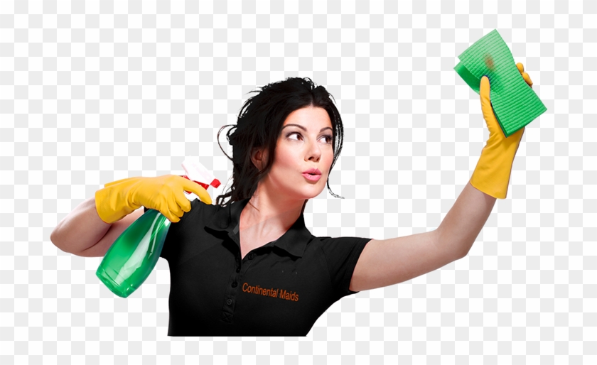 House Cleaning Ladies - Lady Cleaning - Free Transparent PNG Clipart