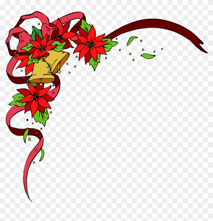 Corner Christmas Borders - Free Transparent PNG Clipart Images Download