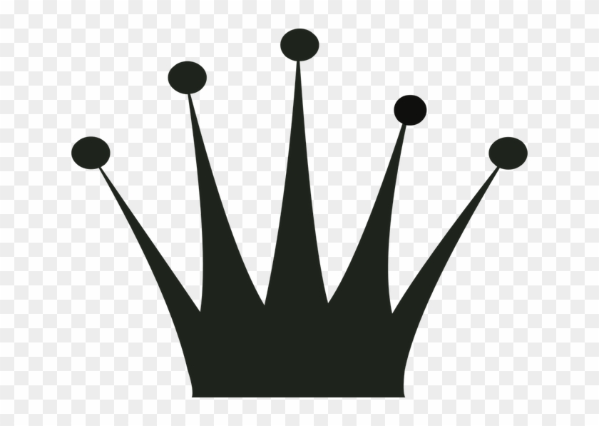 Crown, Silhouette, Gold, Clip Art, King, Queen, Prince - Crown