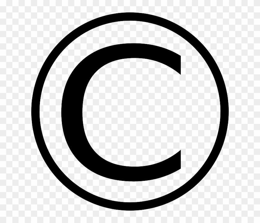 Copyright Symbol Vector Png - Free Transparent PNG Clipart Images