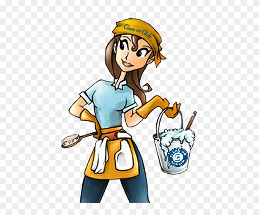 House Cleaning Ladies - Cleaning Lady - Free Transparent PNG Clipart