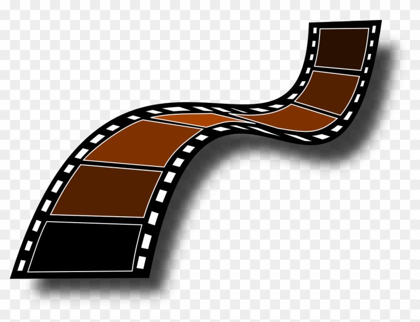 Filmstrip Film Frames Camera Film Roll The Tape - Film Strip Clip