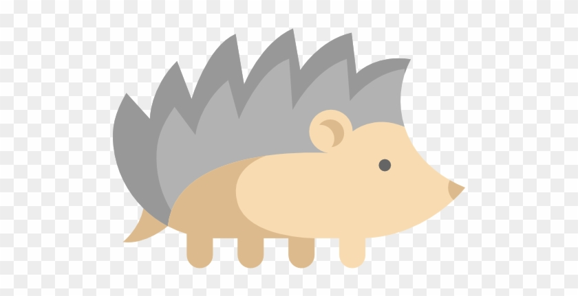 Hedgehog Scalable Vector Graphics Animal Icon - Hedgehog Scalable