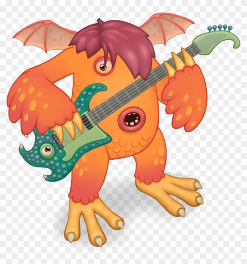 Monsters Who Like It - Riff My Singing Monsters - Free Transparent