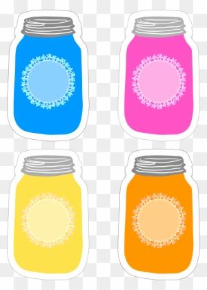 Mason Jar  Strawberry Recipes Cards - Mason Jar - Free Transparent