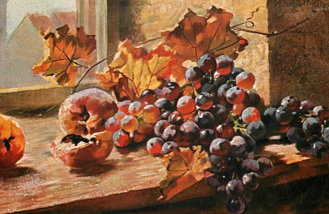 Victorian Autumn Still Life