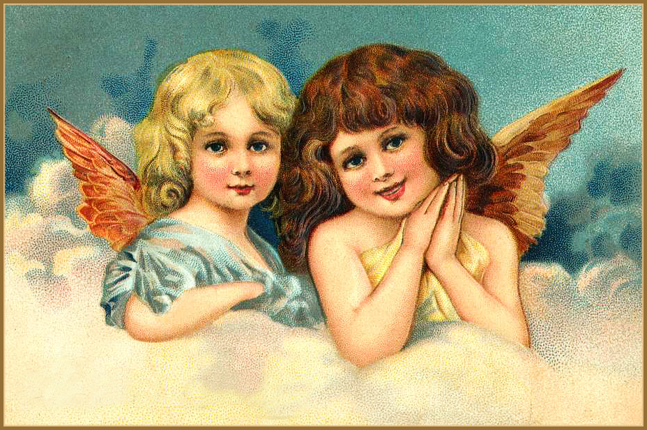 Two Victorian Angels