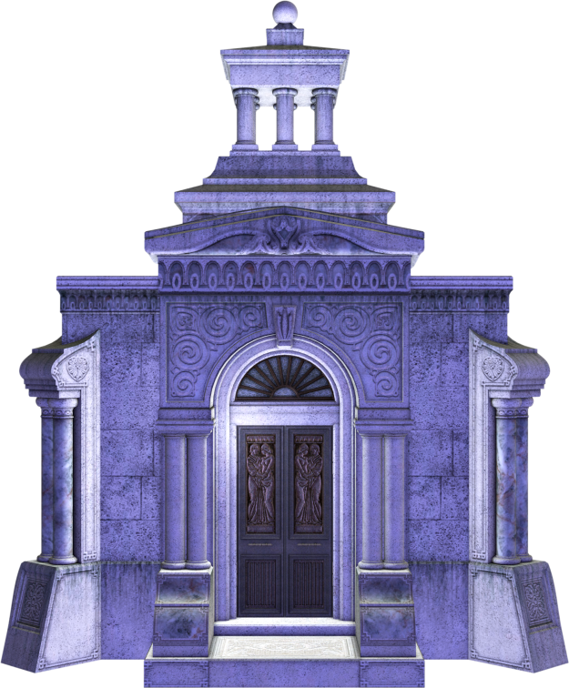 mausoleum, stock image, Halloween, horror, Goth, PNG