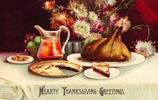 Hearty Thanksgiving Graphic