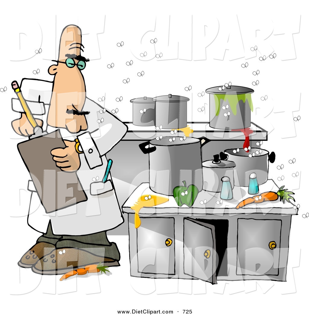 Restaurant Kitchen Illustration cartoon restaurant kitchen